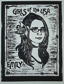 """Girls of the USA: Emily."" Relief, 2008."