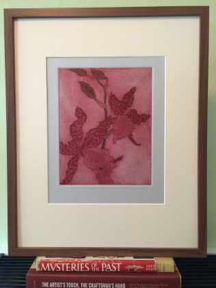 Oncidium II in red and brown