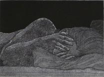 """""""Lichen,"""" 2012-2017 etching"""